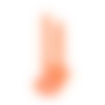 Lex Pott Twist Candle Fluoro Orange