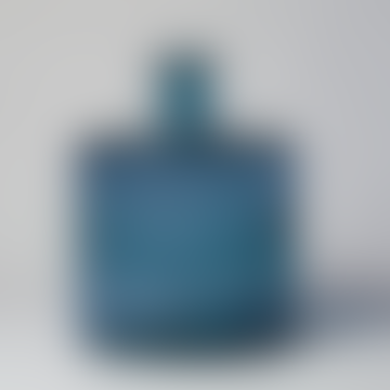 Mica Lake Blue Bottle Neck Vase