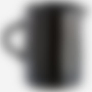Madam Stoltz Speckled Black Ceramic Jug