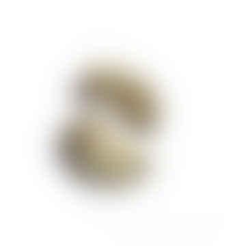 Eshe Earrings - Green Marble