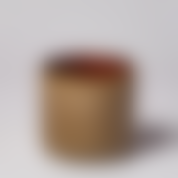 Wikholm Form Brown Mottled Ceramic Pot - Mini