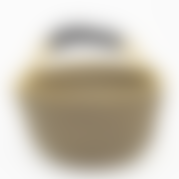 Afroart Black/Natural Bolga Picnic Basket