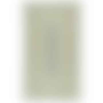 92 x 152cm Rectangle Mint Organic Jute Rug