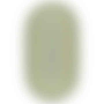 92 x 152cm Oval Mint Organic Jute Rug