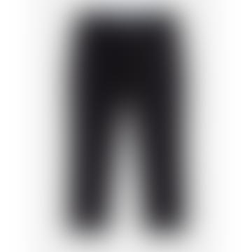 Black Virgin Wool Atelier Tapered Trouser