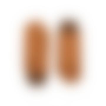 Gants en cuir marron Aston Sienna