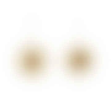 Set of Three Gold Sparkly Stars