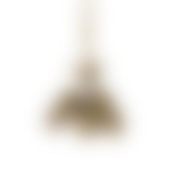 Brass Pinecone Ornament