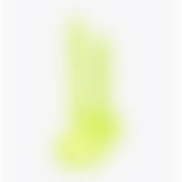 Lex Pott Twist Candle Round Fluo Yellow