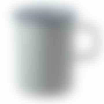 White Enamel Half Liter Measuring Cup
