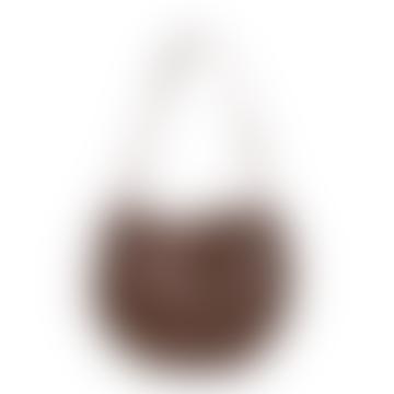 Brown Bubble Ball Bag