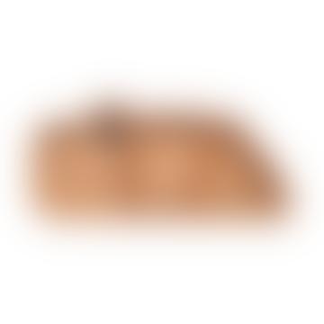 Silicone Stick&Stay snackplate Croco Mustard