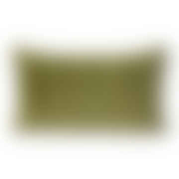 HKliving Green & Camo Striped Cushion