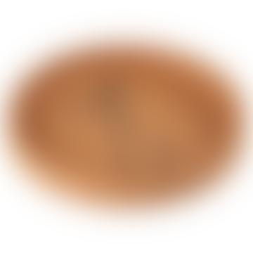 Silicone plate Raffi Mustard