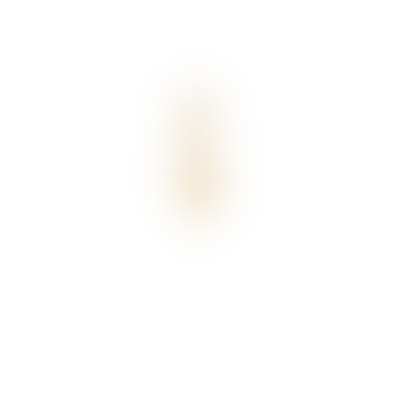 Single Madonna Cross Ring Earring Gold
