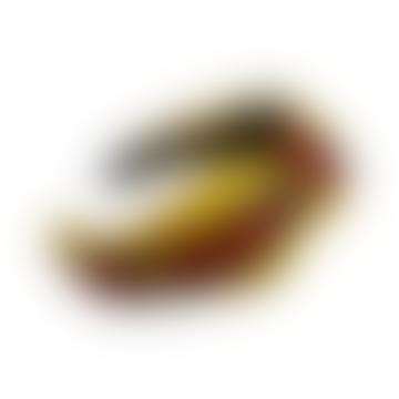 Bandeau Bee Stripe Knot Moutarde