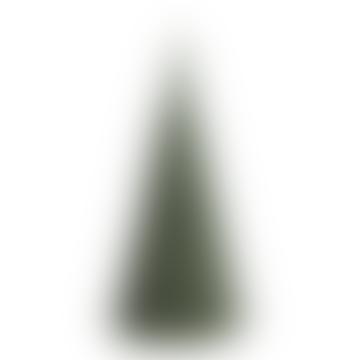20 x 40 cm Stone Christmas Tree Candle XL