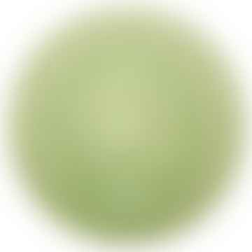 Large Green Glass Plate