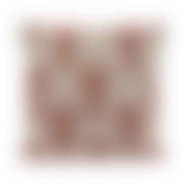 Creme Perlen Kissen mit Hummer Design