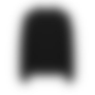 Black 654F5 Ghost Piece Sweatshirt