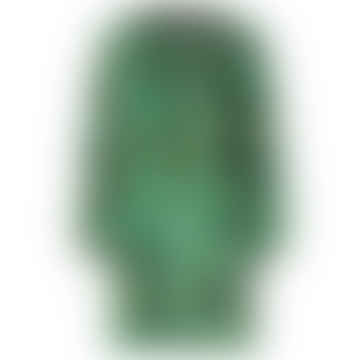 Sienna Velvet Jacquard Dress - Distortion