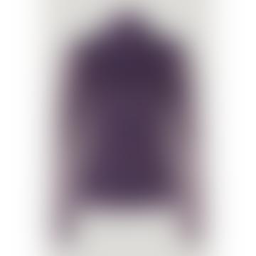 Jodi Paris Flower Purple Top