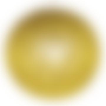 La Case de Cousin Paul Mustard Ivory Black Globes Art Deco Dome