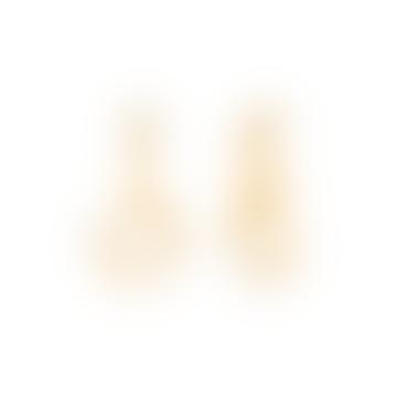 Prado White Sand Earrings