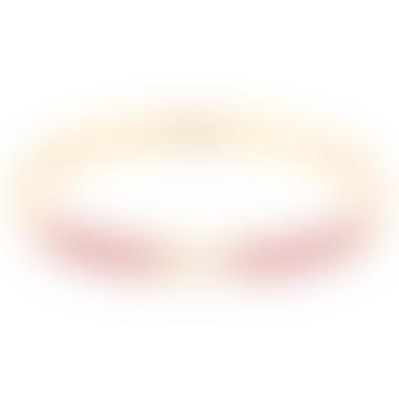 Lily Red Velvet Bracelet