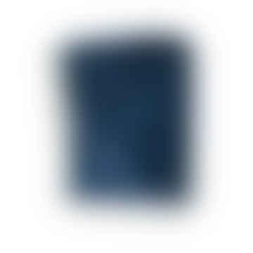 Stonewashed Velvet Throw Blue