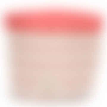 Mambo Basket Large Pink Diamonds