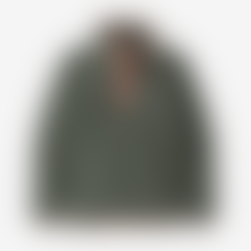Boys Micro D Snap T Pullover Kale Green