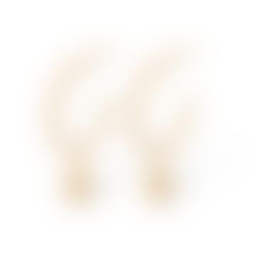 Pernille Corydon Waterdrop Hoop Earrings