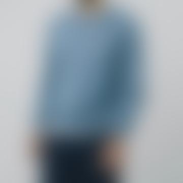 Polaroid Blue Merino Pullover