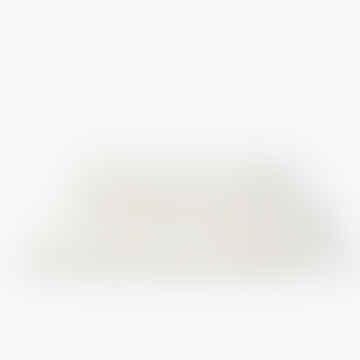 Kontex Lattice Linen Waffle Bath Towel XL Cream White