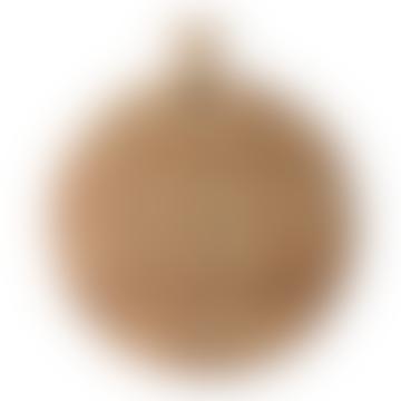Planche à pain moyenne en teck de récupération naturelle