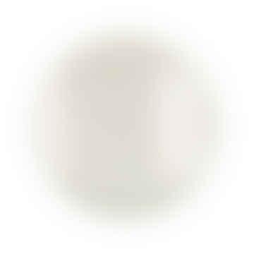 Coffee table Medium: Gold metal table legs, medium, L 57 x W 57 x H 48 cm and Off-White round enamel tray, medium, Dia 55 x H 2 cm
