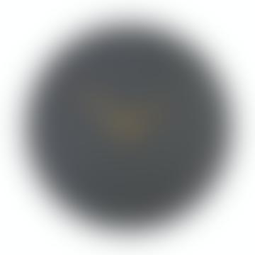 Große Schiefer Coleridge Uhr mit Messingzeigern