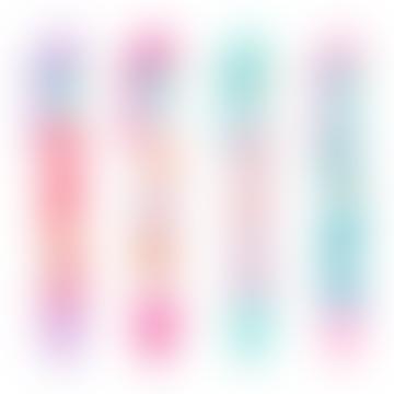 Ooly Teal 6 Click Funtastic Friends Multicolor Pens