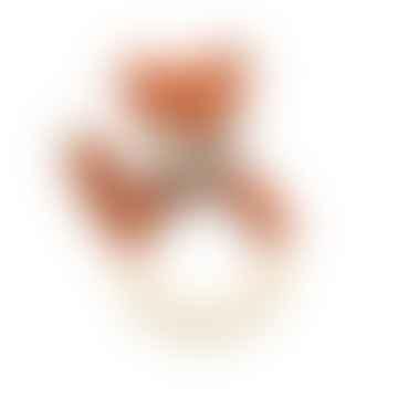 Hochet en crochet rouge Sparky The Fox Tail