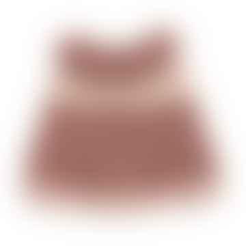 Robe de vêtements pour poupées roses ensoleillées