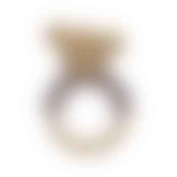 Hochet en crochet doré Buttercup la souris sur anneau