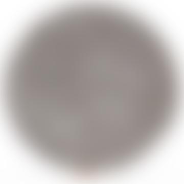 Ida Round Sheepskin Seat Pad 38 cm in Grey Graphite
