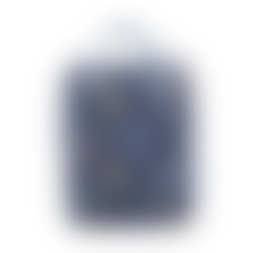 Dark Blue Large Race Car Backpack