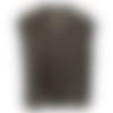 Debardeur Grey V-Neck Cable Knit
