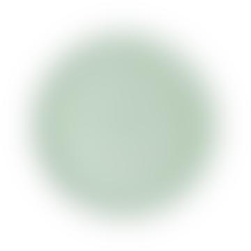 Medium Round Enamel Tray Sage Green