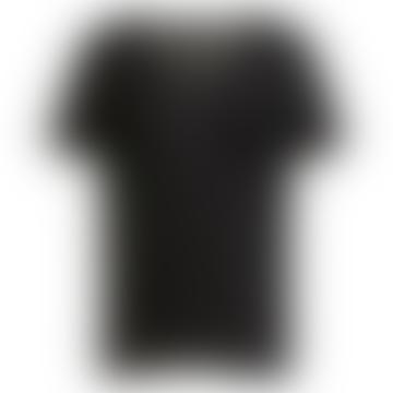 T-Shirt Objtessi Col V Noir
