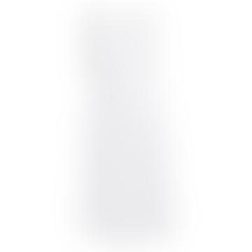 Sleeveless Button Dress White