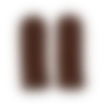 Torino Mittens Chocolate Brown