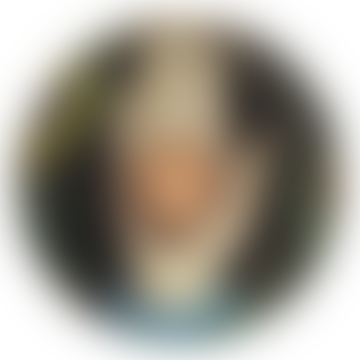 JOHN DERIAN Small Decorative Plate Heart in Hand